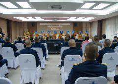 พลอากาศโท สุรสีห์ สิมะเศรษฐ์ ผู้บัญชาการหน่วยบัญชาการอากาศโยธิน เป็นประธานในพิธีทำบุญวันคล้ายวันสถาปนา ศูนย์การทหารอากาศโยธิน หน่วยบัญชาการอากาศโยธิน ครบรอบ 58 ปี ในวันที่ ๒๕ กรกฎาคม 2563